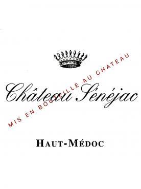 Château Sénéjac 2016 Caisse bois d'origine de 6 bouteilles (6x75cl)