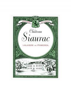 Château Siaurac 2014 12 bouteilles (12x75cl)