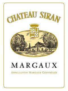 Château Siran 2014 Caisse bois d'origine de 12 bouteilles (12x75cl)