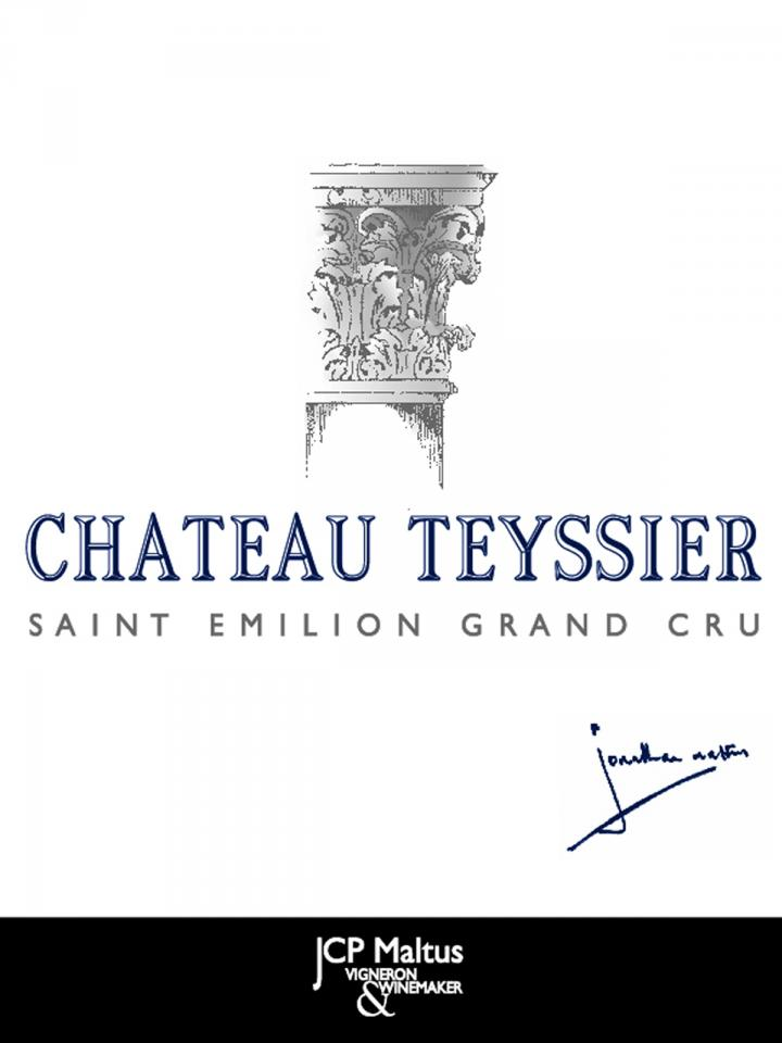 Château Teyssier 2012 Caisse bois d'origine de 12 bouteilles (12x75cl)