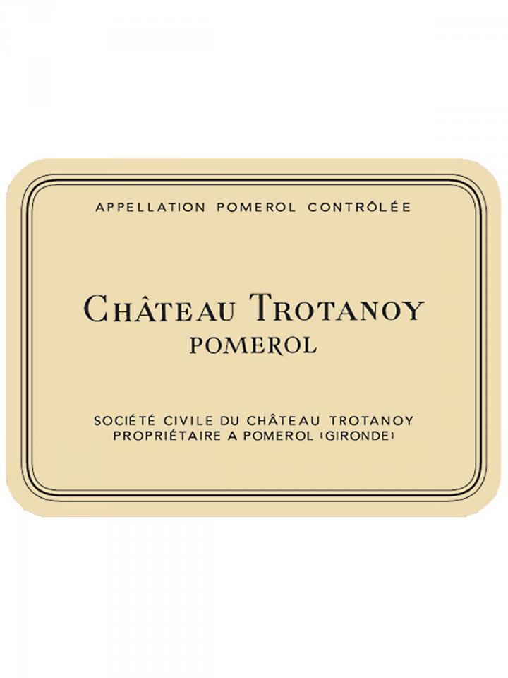 Château Trotanoy 2009 Caisse bois d'origine de 6 bouteilles (6x75cl)