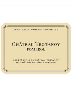 Château Trotanoy 1986 Caisse bois d'origine de 12 bouteilles (12x75cl)