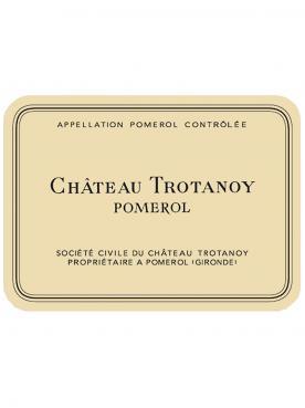 Château Trotanoy 2015 Caisse bois d'origine de 6 bouteilles (6x75cl)