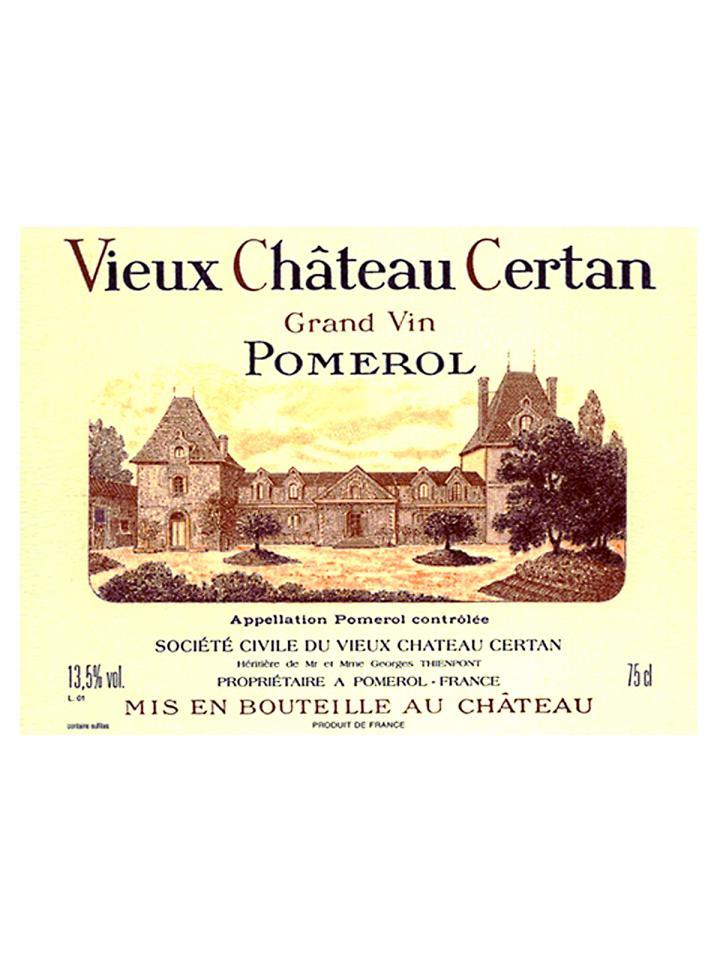 Vieux Château Certan 2012 Caisse bois d'origine de 6 bouteilles (6x75cl)