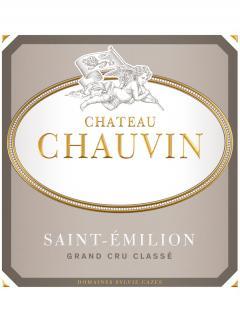 Château Chauvin 2014 Caisse bois d'origine de 6 bouteilles (6x75cl)