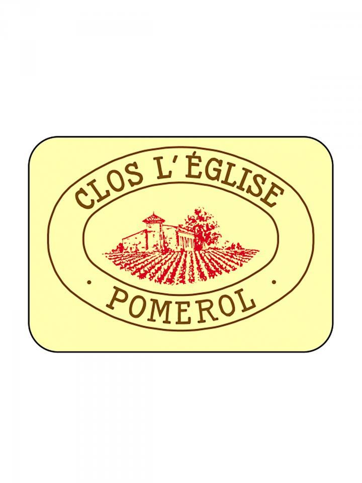 Clos l'Eglise 2007 Caisse bois d'origine de 6 bouteilles (6x75cl)