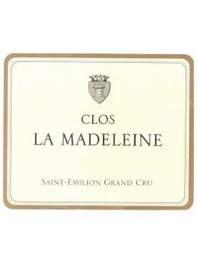 Clos La Madeleine 2014 Caisse bois d'origine de 6 bouteilles (6x75cl)