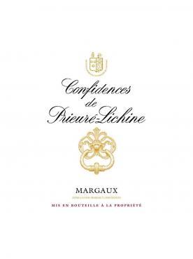 Confidences de Prieuré-Lichine 2011 Caisse bois d'origine de 12 bouteilles (12x75cl)
