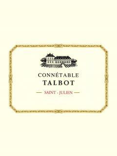 Connetable Talbot 2011 Caisse bois d'origine de 6 bouteilles (6x75cl)