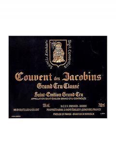 Couvent des Jacobins 2016 Caisse bois d'origine de 6 bouteilles (6x75cl)