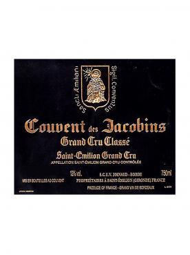 Couvent des Jacobins 2010 Caisse bois d'origine de 6 bouteilles (6x75cl)