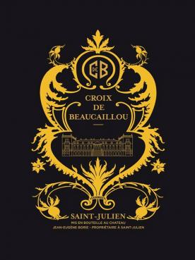 Croix de Beaucaillou 2012 Caisse bois d'origine de 6 bouteilles (6x75cl)
