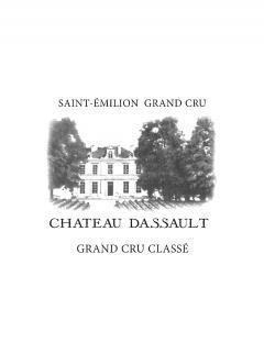 Château Dassault 2014 Caisse bois d'origine de 12 bouteilles (12x75cl)