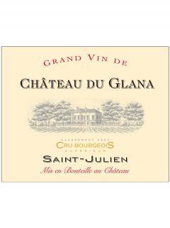 Château du Glana 2015 Caisse bois d'origine de 12 bouteilles (12x75cl)