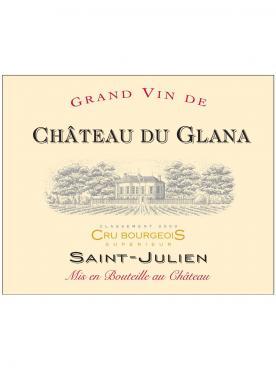 Château du Glana 2018 Caisse bois d'origine de 6 magnums (6x150cl)
