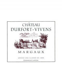 Château Durfort-Vivens 2014 Caisse bois d'origine de 12 bouteilles (12x75cl)