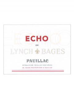 Echo de Lynch Bages 2014 Caisse bois d'origine de 12 bouteilles (12x75cl)