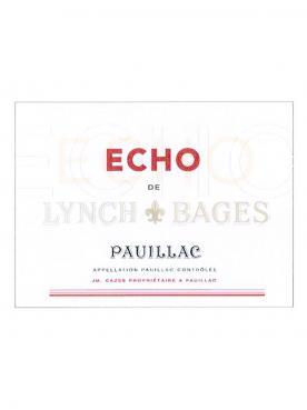Echo de Lynch Bages 2018 Caisse bois d'origine de 6 bouteilles (6x75cl)