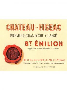 Château Figeac 2002 Caisse bois d'origine de 12 bouteilles (12x75cl)