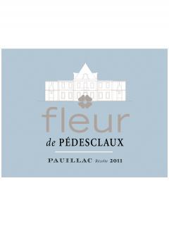 Fleur de Pedesclaux 2015 Caisse bois d'origine de 6 bouteilles (6x75cl)