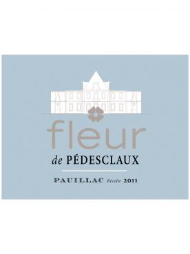 Fleur de Pedesclaux 2018 Caisse bois d'origine de 6 bouteilles (6x75cl)