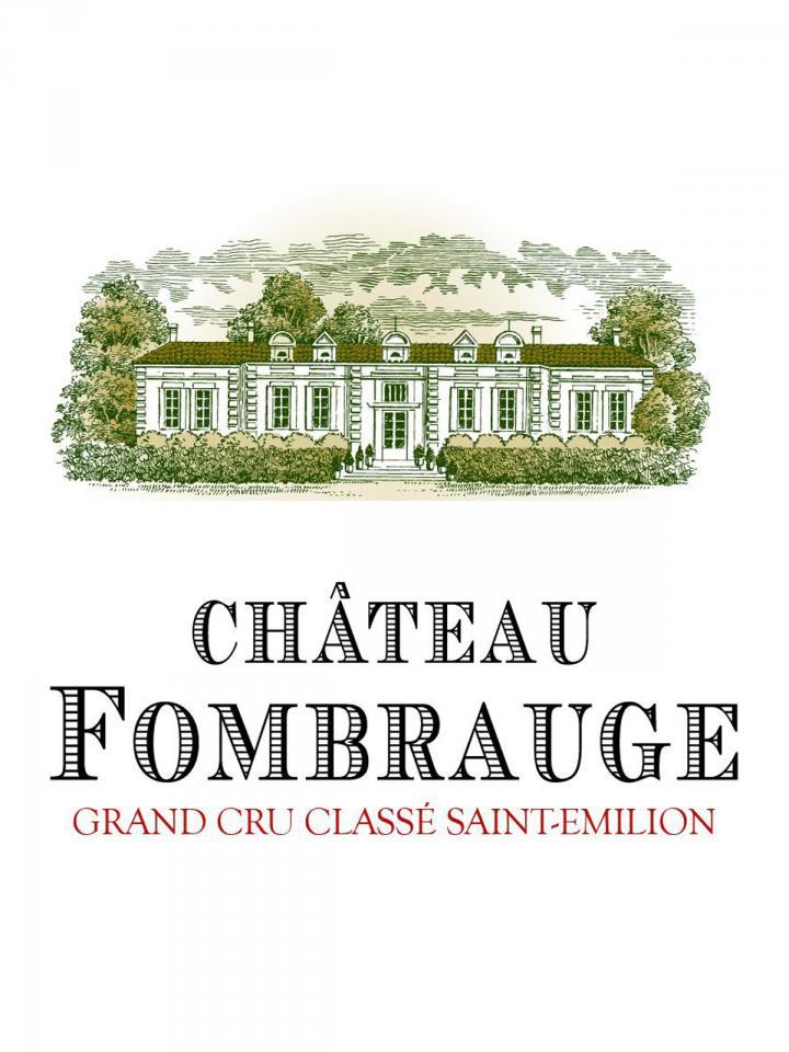 Château Fombrauge 2013 Caisse bois d'origine de 6 bouteilles (6x75cl)