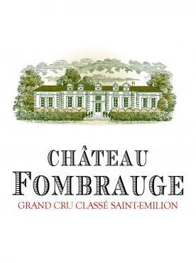 Château Fombrauge 2015 Caisse bois d'origine de 12 bouteilles (12x75cl)