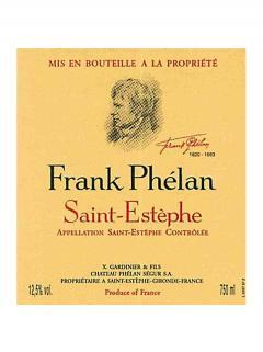 Frank Phélan 2013 Caisse bois d'origine de 6 bouteilles (6x75cl)