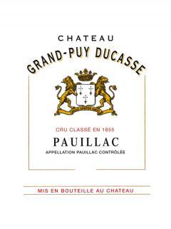 Château Grand-Puy Ducasse 2014 Caisse bois d'origine de 12 bouteilles (12x75cl)