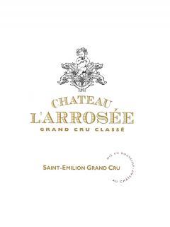 Château l'Arrosée 2007 Caisse bois d'origine de 12 bouteilles (12x75cl)