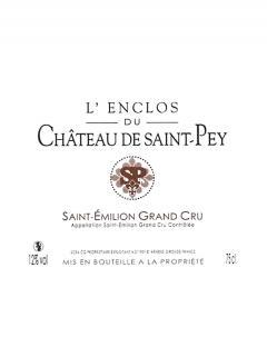 L'Enclos du Château de Saint Pey 2014 6 bouteilles (6x75cl)