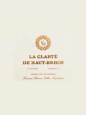 La Clarté de Haut Brion 2018 Caisse bois d'origine de 6 bouteilles (6x75cl)