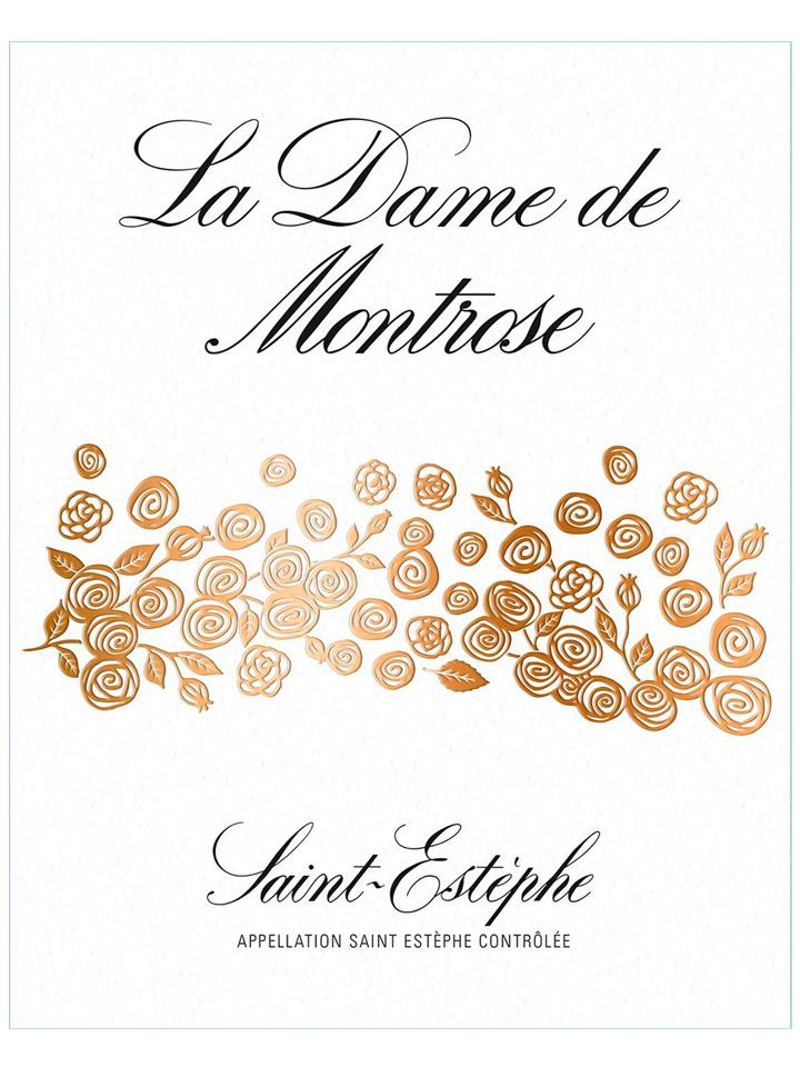 La Dame de Montrose 2014 Caisse bois d'origine de 12 bouteilles (12x75cl)