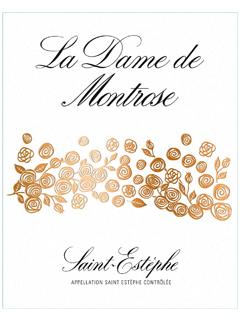 La Dame de Montrose 2012 Caisse bois d'origine de 6 bouteilles (6x75cl)