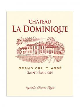 Château La Dominique 2018 Caisse bois d'origine de 12 bouteilles (12x75cl)