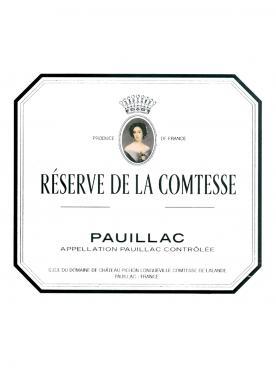 La Réserve de la Comtesse 2009 Caisse bois d'origine de 12 bouteilles (12x75cl)