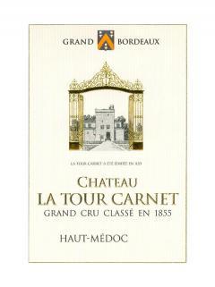 Château La Tour Carnet 2014 Caisse bois d'origine de 12 bouteilles (12x75cl)