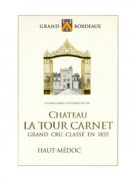 Château La Tour Carnet 2011 Caisse bois d'origine de 12 bouteilles (12x75cl)