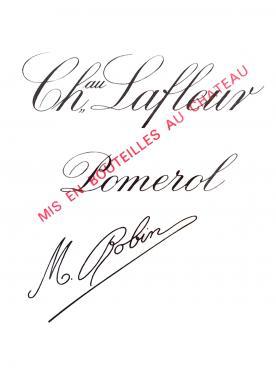 Château Lafleur 2012 Caisse bois d'origine de 6 bouteilles (6x75cl)