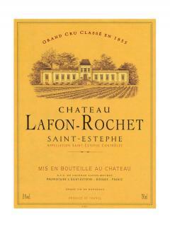 Château Lafon-Rochet 2015 Caisse bois d'origine de 12 bouteilles (12x75cl)