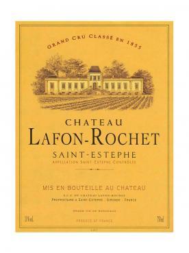Château Lafon-Rochet 2002 Caisse bois d'origine de 12 bouteilles (12x75cl)