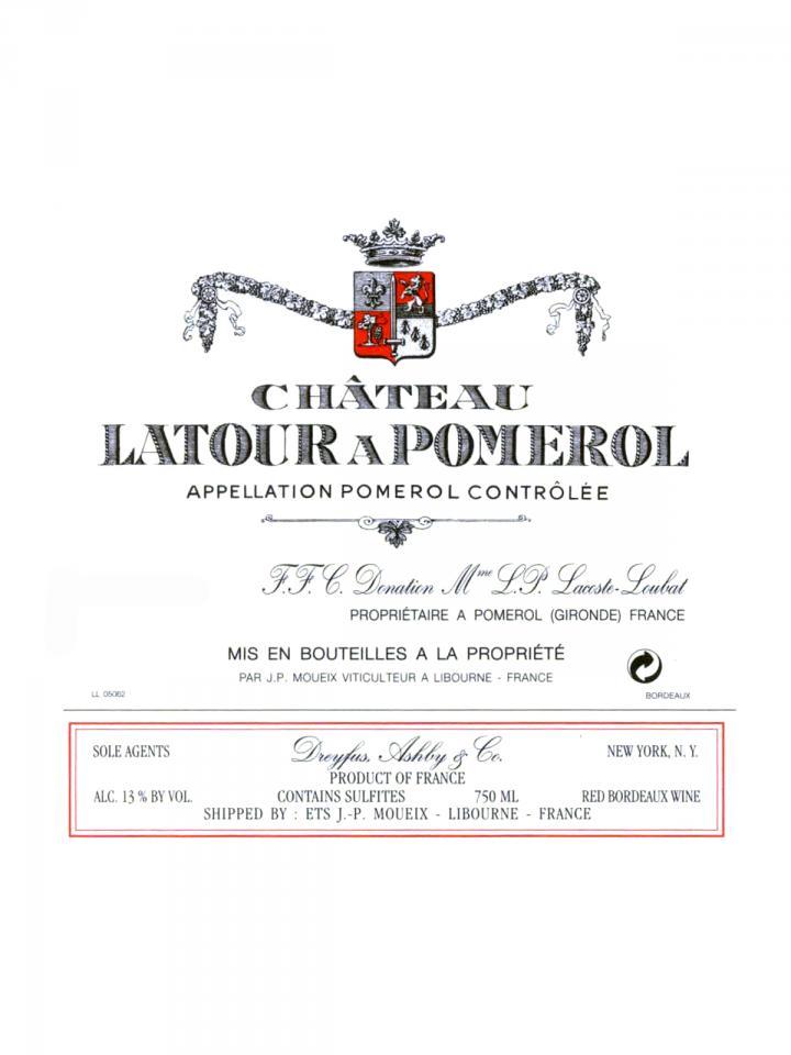 Château Latour à Pomerol 1959 Bouteille (75cl)
