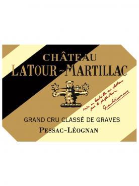 Château Latour-Martillac 2015 Caisse bois d'origine de 6 bouteilles (6x75cl)