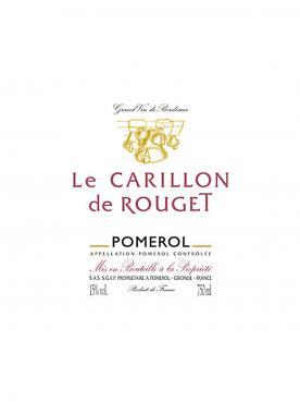Le Carillon de Rouget 2016 6 bouteilles (6x75cl)