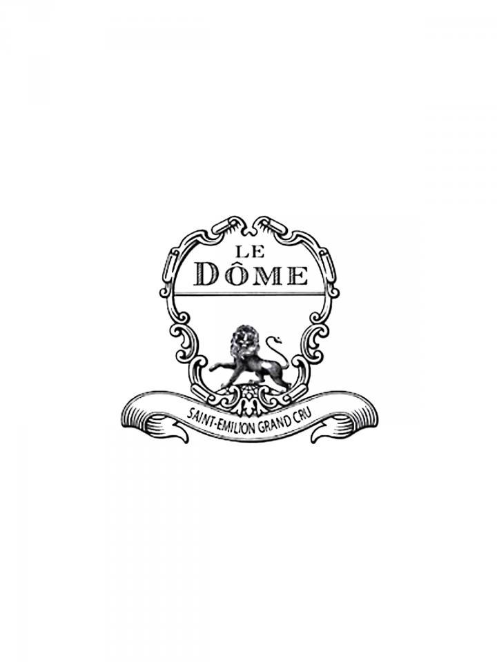 Le Dôme 2013 Caisse bois d'origine de 6 bouteilles (6x75cl)