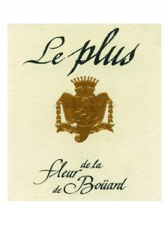 Le Plus de la Fleur de Boüard 2018 Caisse bois d'origine d'un magnum (1x150cl)