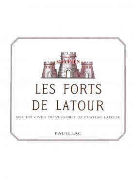 Les Forts de Latour 1996 Caisse bois d'origine de 12 bouteilles (12x75cl)
