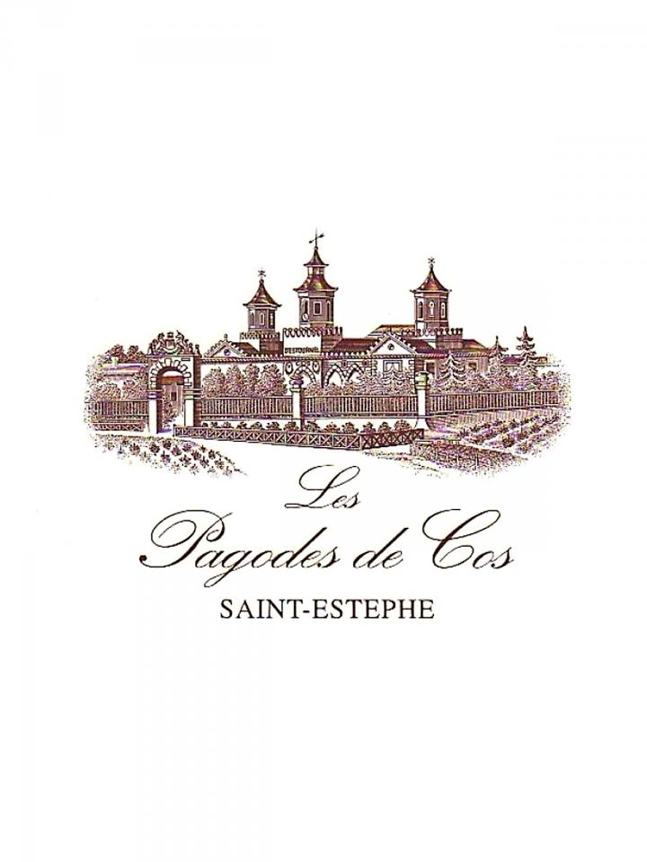 Les Pagodes de Cos 2011 Caisse bois d'origine de 12 bouteilles (12x75cl)