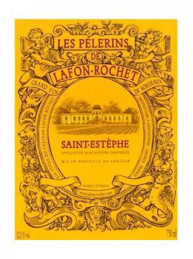 Les Pélerins de Lafon-Rochet 2018 6 bouteilles (6x75cl)
