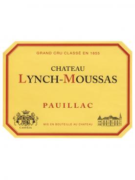 Château Lynch-Moussas 2016 Caisse bois d'origine de 3 magnums (3x150cl)